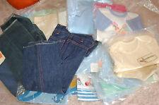 LOT DE VETEMENT VINTAGE GARCON FILLE, 18 mois, 3 PANTALONS , 20 tee shirts