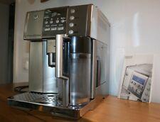 Espresso delonghi prima donna 6600 funciona correctamente de acero inoxidable!