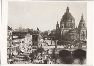 AK, Berlin Mitte, Friedrichsbrücke und Dom, 1924, Reprint um 1991
