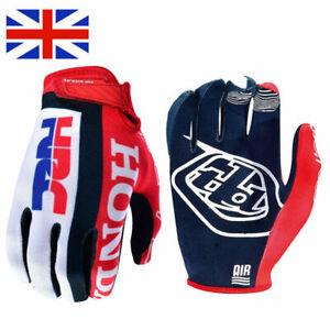 NEW Troy Lee Designs Mens Adult Air Glove Team Honda Red/White Motocross FOX