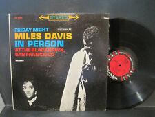"MILES DAVIS ""Friday Night in Person @ Blackhawk"" #1 ST 6Eye Columbia Records Lp"