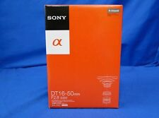 Sony SAL1650 DT16-50 mm F2.8 Lens A-Mount Japan Domestic Version New
