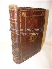 LEGATURA Settecentesca in PELLE con MISSALE ROMANUM del 1754 Tavole incise