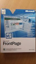 NEW Microsoft FrontPage Upgrade - Website Creation & Management Solution