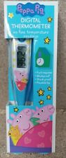 PEPPA PIG DIGITAL ORAL THERMOMETER KIDS CHILDRENS TEMPERATURE READING CHECKER