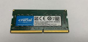 Crucial CT8G4SFS8266.M8FD 8 GB (DDR4-2666 SO-DIMM Memory Module