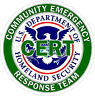 CERT Homeland Security Reflective Decal Sticker Police EMS Rescue Disaster