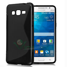 Custodia WAVE NERA per Samsung Galaxy Grand Prime G530H cover case TPU