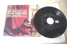 """ENNIO MORRICONE""""PARLAMI D'AMORE MARIU'-DISCO 45 GIRI RCA Italy 1967"""""""