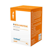 ForMeds F-Beta Carotene - Natural Pure Beta Carotene 60 Portions UK Stock!