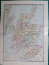 Scotland Antique Europe Political Maps