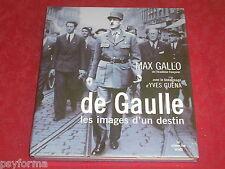 Livre NEUF SOUS BLISTER: De Gaulle les images d'un destin - prix commerce 35 eur