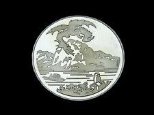 Schweiz-CH., 20 Franken, 1996 B, Drache von Breno, Silber, orig. St.!
