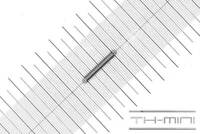 Edelstahl Außen Ø: 18mm Einhängelänge: 207,5mm Zugfeder Drahtstärke: 3mm