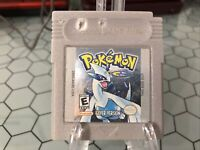Pokemon - Silver - Original / Authentic -Game Boy Color - Tested - Dry Battery