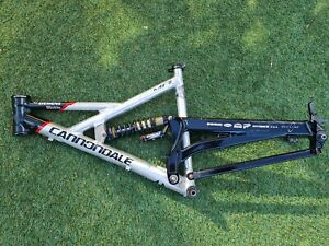 MADE IN USA Cannondale GEMINI Siemens Team Full Suspension Frame M Chris King