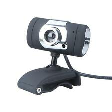 50MP USB 2.0 Webcam HD Camera Web Cam with MIC for Laptop Desktop PC Black 0L1X