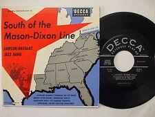 ED 638 Lawson-Haggart Jazz Band - South Of The Mason-Dixon Line