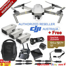 DJI MAVIC PRO PLATINUM FLY MORE COMBO WITH *FREE* 64GB Sandisk Extreme SD card