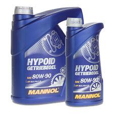 5 (4+1) Liter MANNOL SAE 80W-90 Hypoid Getriebeöl/ Schaltgetriebe/ Achsen GL5