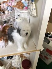 dollhouse miniatures 1:12 artist offerings Old English Sheepdog Ooak