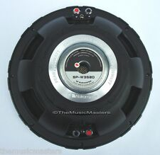 "(1) Single Premium HQ 12"" Car Audio 2500W Woofer Subwoofer Bass Speaker SPW350D"