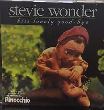 STEVIE WONDER - KISS LONELY GOOD-BYE - 3 MIXES - LIKE NEW - G540