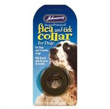 Johnson's Flea & Tick Collar ~ For Large Dogs over 3 Mths of Age ~ Waterproof
