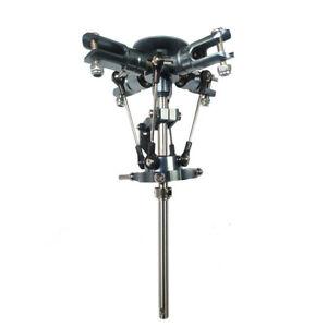 4 Blatt Rotorkopf T REX 450 mit Taumelscheibenmitnehmer