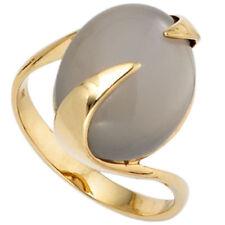 Echtschmuck-Ringe im Solitär-Stil mit Mondstein für Damen