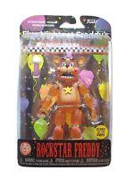 ROCKSTAR FREDDY Glow in the Dark Figure Five Nights at Freddy's NEW & SEALED