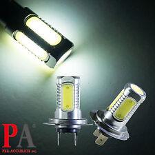 2x Truck Bus Trailer 24V H7 High Power COB LED 6000K White Headlight Light Bulb