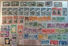 Postage Stamps Ceylon Large Lot