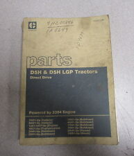Caterpillar Cat D5H & D5H LGP Tractor Parts Catalog Manual 7NC 9HC 1986