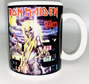 Iron Maiden 2010 Global Mug Rock Bands Coffee/Tea Cup