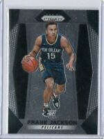 2017-18 Frank Jackson Panini Prizm RC #125 Rookie Card New Orleans Pelicans 2018