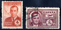 Sellos de España 1945 nº 991/992 Haya y Garcia Morato sellos matasellados