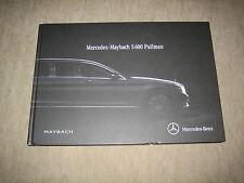Mercedes Maybach S600 Pullman VV222 Buch Prospekt Brochure v. 9/2015, 124 Seiten