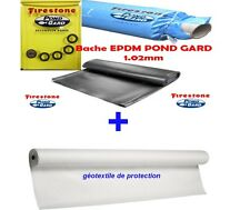 Bâche EPDM Firestone 7.62M+ géotextile