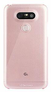 Véritable LG G5 Snap On Coque Étui Arrière Rose CSV-180.AGEUPK