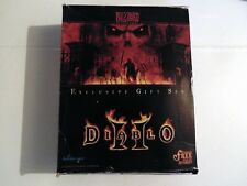 PC DIABLO II CHRISTMAS GIFT SET EDITION INC STRATEGY GUIDE & DVD BIG BOX (WIN 95