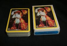 Vintage Mini Souvenir Playing Cards DOG Made in Hong Kong NOS/SEALED CUTE!