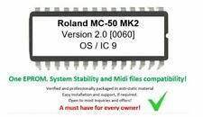 Roland MC-50 - 2.00 UPGRADE EPROM Firmware Latest for MC50 Sequencer MK2 MKII