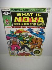 What If? Comic Book #15 NOVA, Marvel Comics 1979 Bronze Age VF/NM