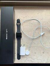Apple Watch Series 2, 42mm Aluminiumgehäuse, Space Grau, Nike+ Version