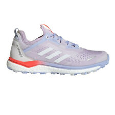 adidas Womens Terrex Agravic Flow Trail Running Shoes Trainers Sneakers Purple