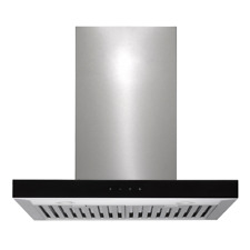 Baumatic RFT6 60cm 600mm Deluxe Flat Canopy Rangehood Exhaust Kitchen Extractor
