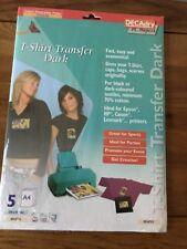 DECAdry T-Shirt Transfer Dark - Pack of 5