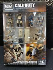Mega Construx Call of Duty Desert Snipers VS Mercenaries Troop Pack GCP06
