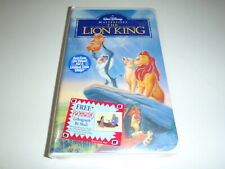 Disney's The Lion King (VHS, 1995) Masterpiece Edition New Sealed